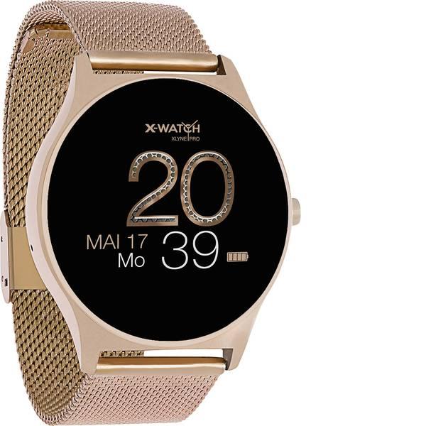 Dispositivi indossabili - X-WATCH JOLI XW PRO Smartwatch Rosa oro -