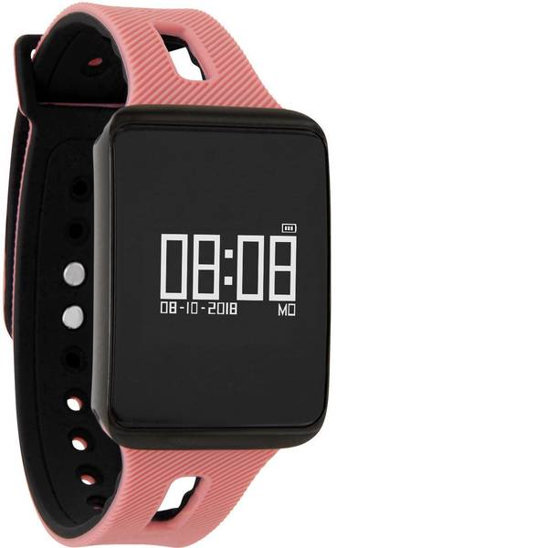 Dispositivi indossabili - X-WATCH KETO XW FIT - SUNSET PEACH Smartwatch Pesca -