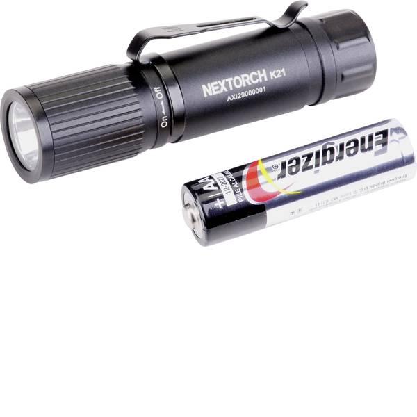 Torce tascabili - Nextorch K21 LED Mini torcia elettrica con clip per cintura, regolabile a batteria 160 lm 14 h 35 g -