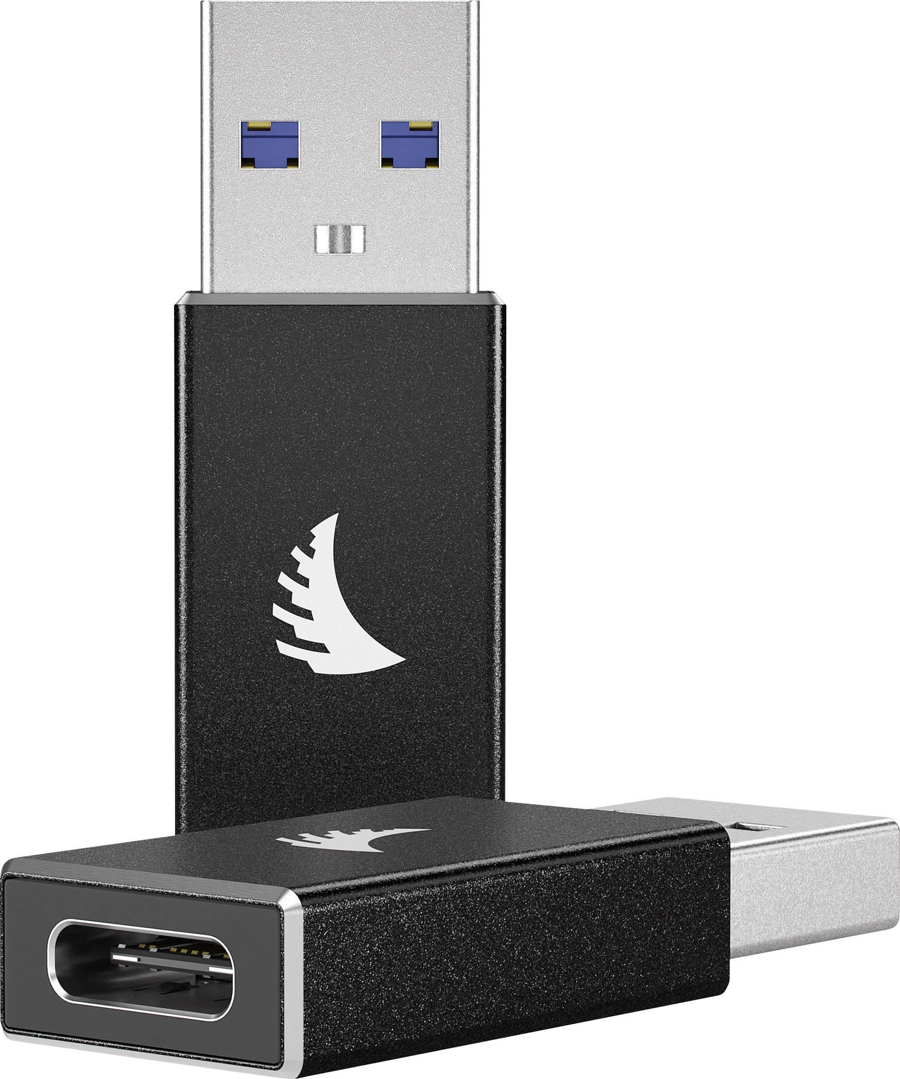 Angelbird USB 3.1 Adattatore [1x Spina A USB 3.1 - 1x presa USB-C™] USB-A-C