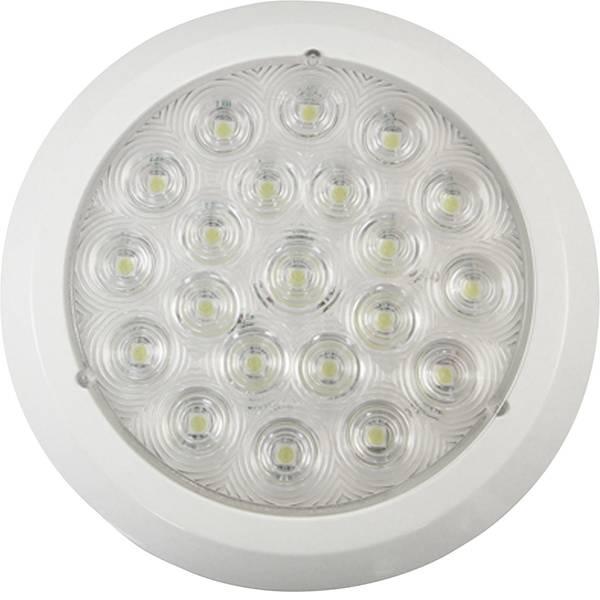 Lampade per campeggio, outdoor e per immersioni - LED Luce da campeggio IVT 420 lm rete elettrica 180 g Bianco 370013 -