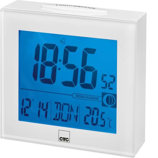 Sveglie - CTC 170251 Radiocontrollato Orologio radiocontrollato Bianco Tempi di allarme 1 -