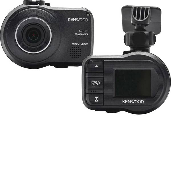 Dashcam - Kenwood DRV430 Dashcam con GPS Max. angolo di visuale orizzontale=128 ° Display -