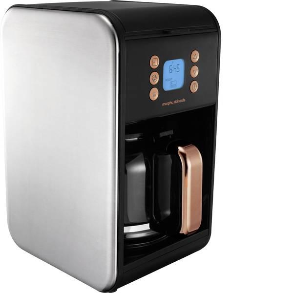 Macchine dal caffè con filtro - Accents Macchina per il caffè Nero, Rosa oro Capacità tazze=12 Caraffa in vetro, Funzione mantenimento calore, funzione  -