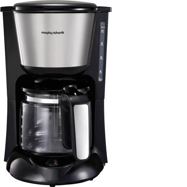 Macchine dal caffè con filtro - Morphy Richards Accents Macchina per il caffè Acciaio inox (spazzolato) Capacità tazze=12 Caraffa in vetro, Funzione  -