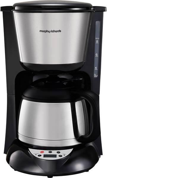 Macchine dal caffè con filtro - Morphy Richards Macchina per il caffè Acciaio inox (spazzolato) Isolato, Funzione mantenimento calore, funzione timer,  -