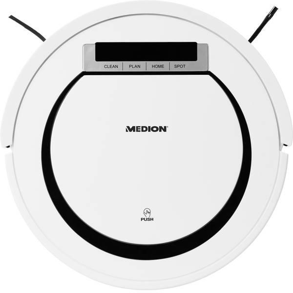 Robot aspirapolvere e lavapavimenti - Medion MD 18600 Robot aspirapolvere Bianco -