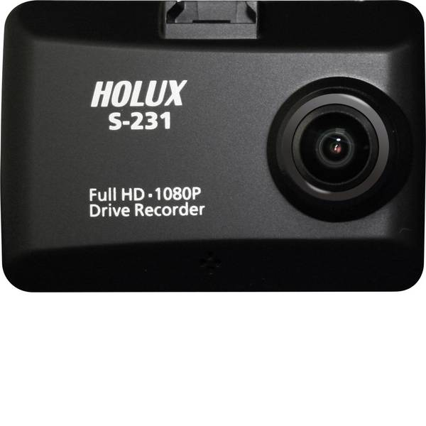 Dashcam - Holux S-231 Super Night Vision DVR Dashcam con GPS Microfono, Display -