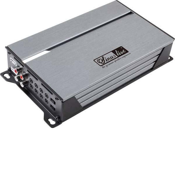 Amplificatori HiFi per auto - Sinuslive SL-A4100D Amplificatore a 4 canali 240 W -