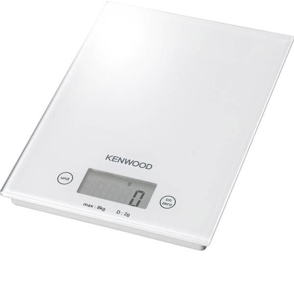 Bilance da cucina - Kenwood Home Appliance DS401 Bilancia da cucina digitale Portata max.=8 kg Bianco -