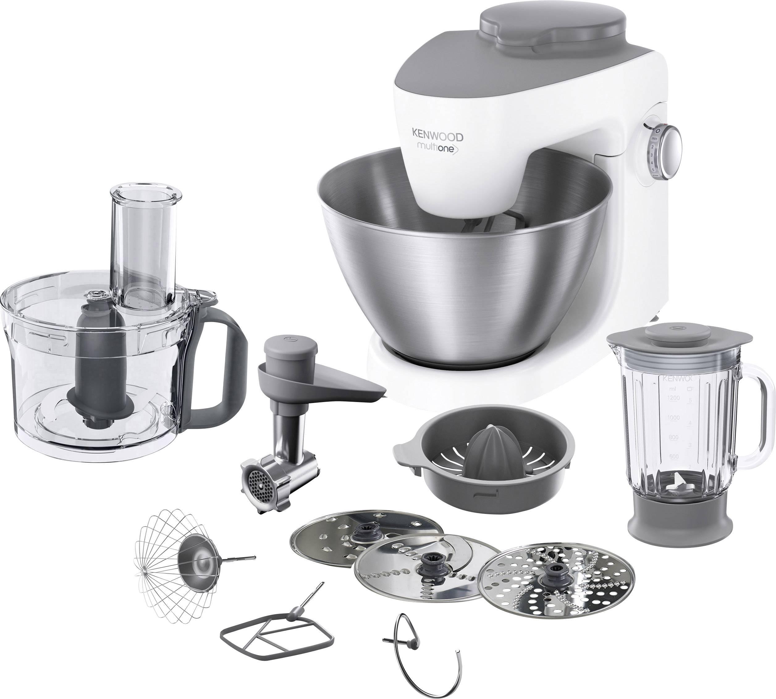 Kenwood Home Appliance KHH323 WH Robot da cucina 1000 W Bianco, Acciaio