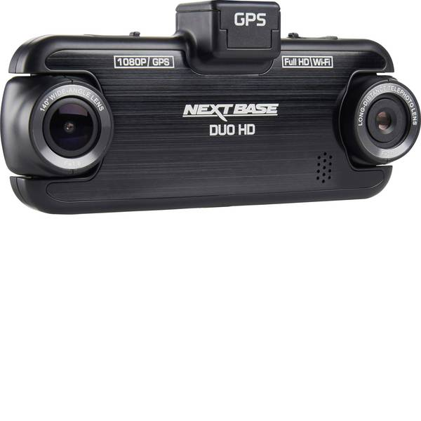 Dashcam - NextBase Duo HD Dashcam con GPS Max. angolo di visuale orizzontale=140 ° Display -