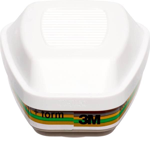 Filtri per protezione delle vie respiratorie - 3M Filtro 3M gas e filtri combinati 6092 6092 4 pz. -