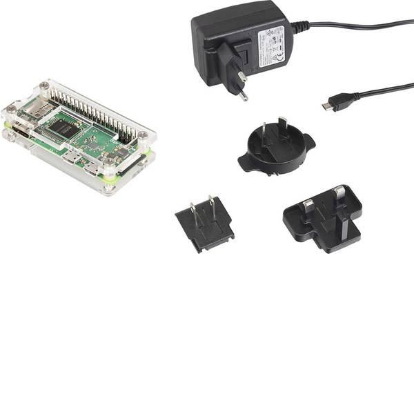 Schede di sviluppo e Single Board Computer - Raspberry Pi® Zero WH 512 MB 1 x 1.0 GHz incl. cavo di alimentazione, incl. custodia, incl. Noobs OS, incl. valigetta  -