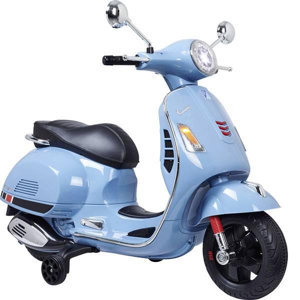 Veicoli elettrici per bambini - Roller elettrico Jamara 12 V Ride-on Vespa Blu -