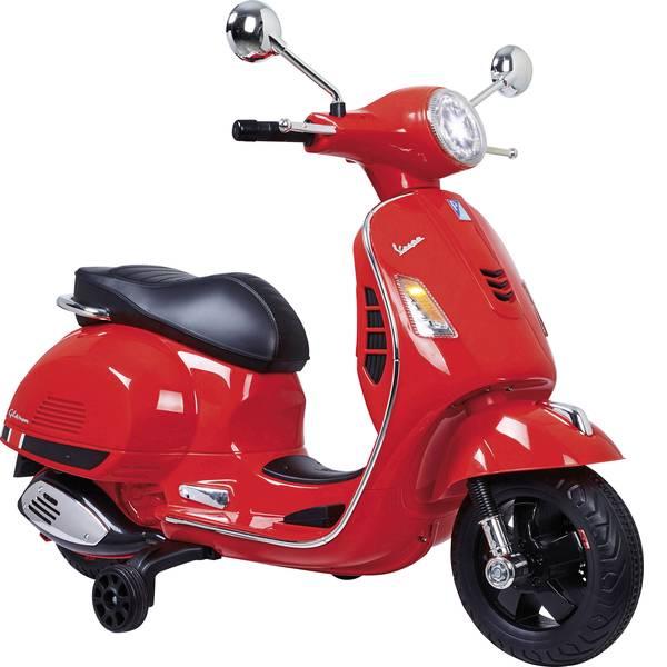 Veicoli elettrici per bambini - Roller elettrico Jamara 12 V Ride-on Vespa Rosso -