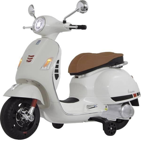 Veicoli elettrici per bambini - Roller elettrico Jamara 12 V Ride-on Vespa Bianco -