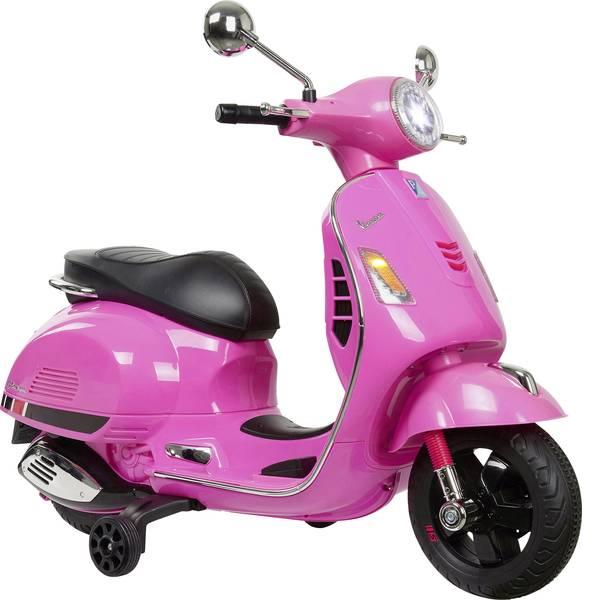 Veicoli elettrici per bambini - Roller elettrico Jamara 12 V Ride-on Vespa Rosa -