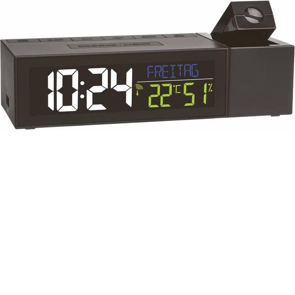 Orologi a proiezione - TFA Show 60.5014.01 Radiocontrollato Sveglia digitale Nero -