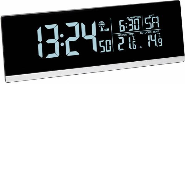 Sveglie - TFA 60.2548.01 Radiocontrollato Sveglia Nero Tempi di allarme 1 -