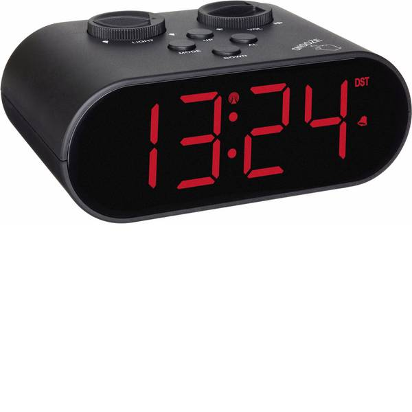 Sveglie - TFA 60.2551.01 Radiocontrollato Sveglia Nero Tempi di allarme 1 -