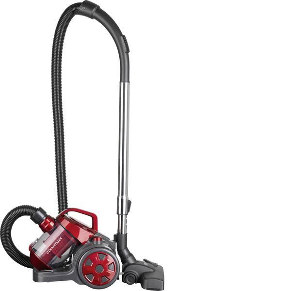 Aspirapolveri - CleanMaxx 9069 Aspirapolvere ciclonico Max. 700 Watt Rosso, Grigio -