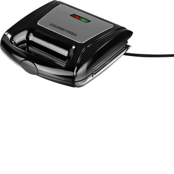 Tostiere - Tostiera Funzione grill, Piastre intercambiabili GourmetMaxx 06177 Antracite -