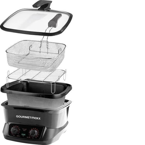 Elettrodomestici e altri utensili da cucina - Multifunzione GourmetMaxx 03388 Nero -