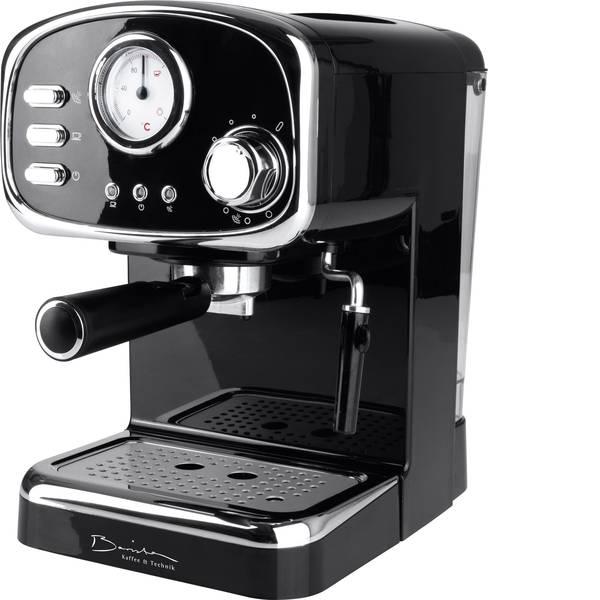 Macchine per caffè espresso - Macchina caffè a filtri GourmetMaxx Barista Retro Nero 1100 W -