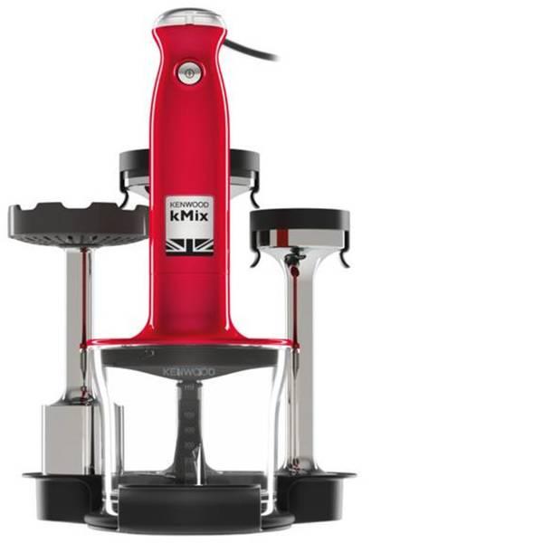 Frullatori a immersione - Kenwood Home Appliance HDX754RD Frullatore ad immersione 800 W Frullatore a immersione, Funzione turbo Rosso -
