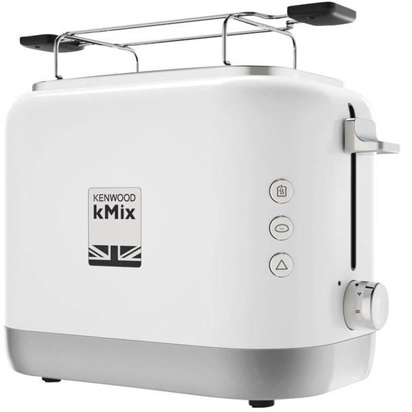 Tostapane - Kenwood Home Appliance TCX751WH Tostapane Con griglia scaldabriosche, 2 bruciatori, Con funzione tostatura Bianco -