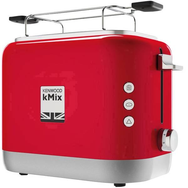 Tostapane - Kenwood Home Appliance TCX751RD Tostapane 2 bruciatori, Con funzione tostatura, Con griglia scaldabriosche Rosso -
