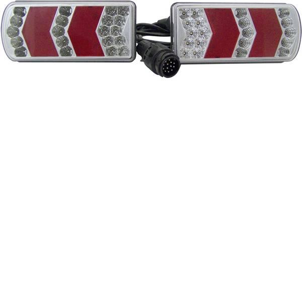 Illuminazione per rimorchi - Berger & Schröter LED, LED SMD Kit illuminazione per rimorchio Luce di direzione, Luce di stop, Luce targa, Retronebbia,  -