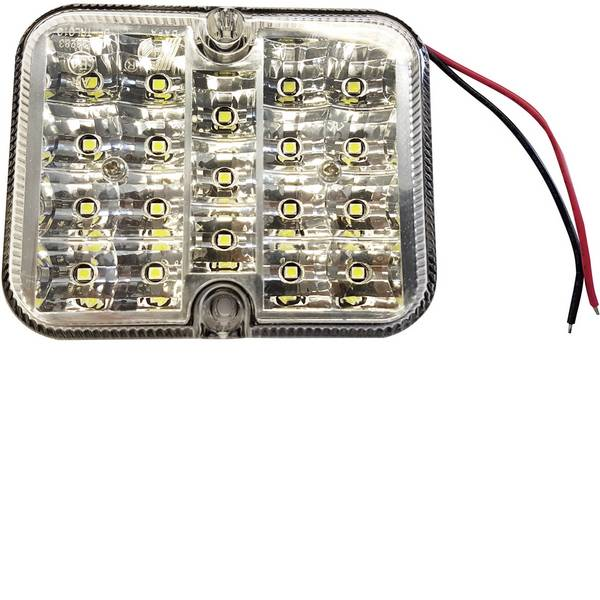 Illuminazione per rimorchi - Berger & Schröter LED SMD Faro di retromarcia Faro di profondità posteriore 12 V Acrilico trasparente Vetro trasparente -