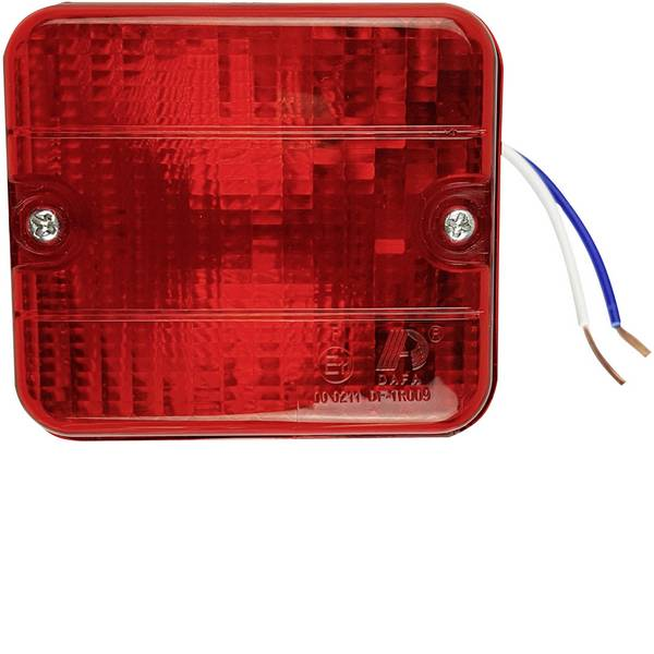 Illuminazione per rimorchi - Berger & Schröter Lampadina alogena Faro antinebbia posteriore Retronebbia posteriore 12 V Rosso -