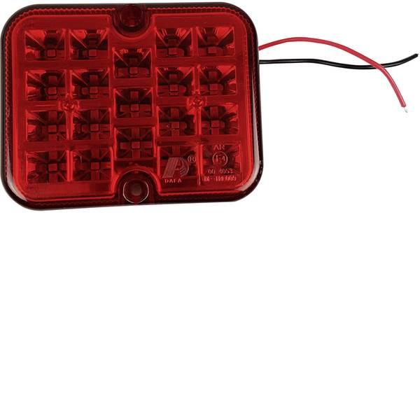 Illuminazione per rimorchi - Berger & Schröter LED SMD Faro antinebbia posteriore Retronebbia posteriore 12 V Rosso -