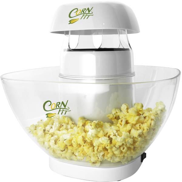 Elettrodomestici e altri utensili da cucina - Macchina per i popcorn Cornfit PM 1160 Bianco, Vetro -