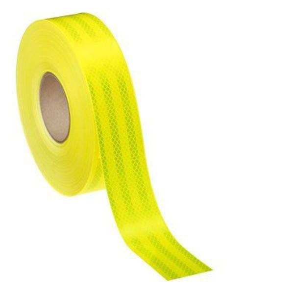 Nastri catarifrangenti - Nastro segnaletico catarifrangente 3M Diamond Grade™ 983-23 98323ES Fluorescente giallo/verde, Giallo selettivo 1  -