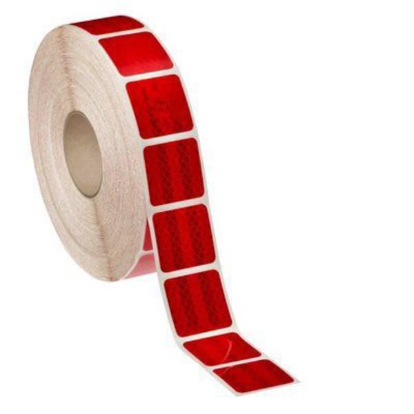 Nastri catarifrangenti - Nastro segnaletico catarifrangente 3M Diamond Grade™ 997S-72 99772S Rosso (riflettente) 1 Rotolo(i) (L x L) 50 m x 51 mm  -