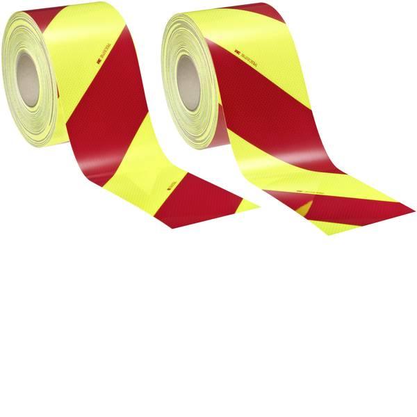 Nastri catarifrangenti - Segnalazione avvertimento veicolo 3M Diamond Grade™ DG³ 4083-33 408333AP Fluorescente giallo/verde, Rosso  -
