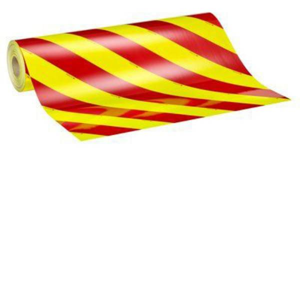 Nastri catarifrangenti - Segnalazione avvertimento veicolo 3M Diamond Grade™ DG³ 4083-33 408333R Fluorescente giallo/verde, Rosso (fluorescente),  -