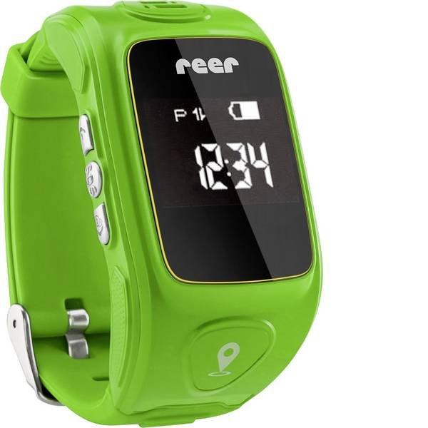 Orologi per bambini - Elettronico Orologio GPS REER AngelGuard 30 mm x 55 mm x 75 mm Verde -