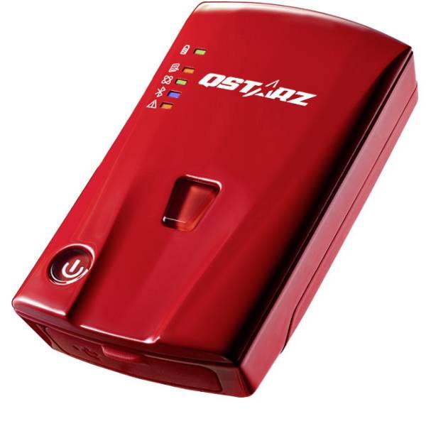 Tracker GPS - Qstarz BL-1000GT Standard Registratore GPS (Logger) Rosso -