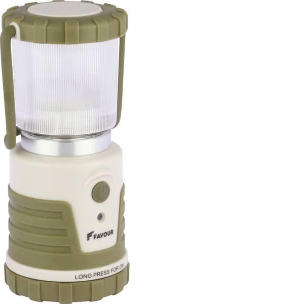 Lampade per campeggio, outdoor e per immersioni - LED Lanterna da campeggio Favour L0541 250 lm a batteria 245 g Marrone sabbia, Sabbia chiara 270FALANTL0541 -