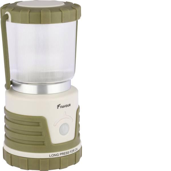Lampade per campeggio, outdoor e per immersioni - LED Lanterna da campeggio Favour L0434 530 lm a batteria 858 g Marrone sabbia, Sabbia chiara 270FALANTL0434 -