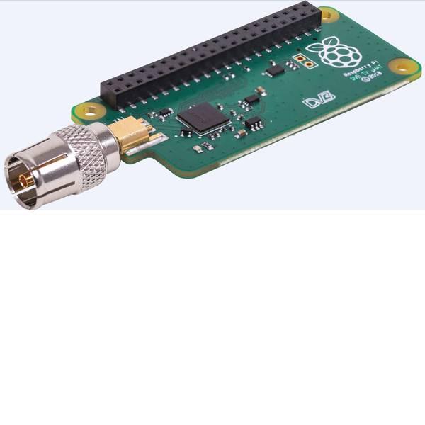 Shield Arduino e HAT Pi - Modulo di ricezione DVB-T/T2 RB-TV-HAT per Raspberry Pi® B+, Raspberry Pi® 2 B, Raspberry Pi® 3 B, Raspberry Pi® 3 B+,  -