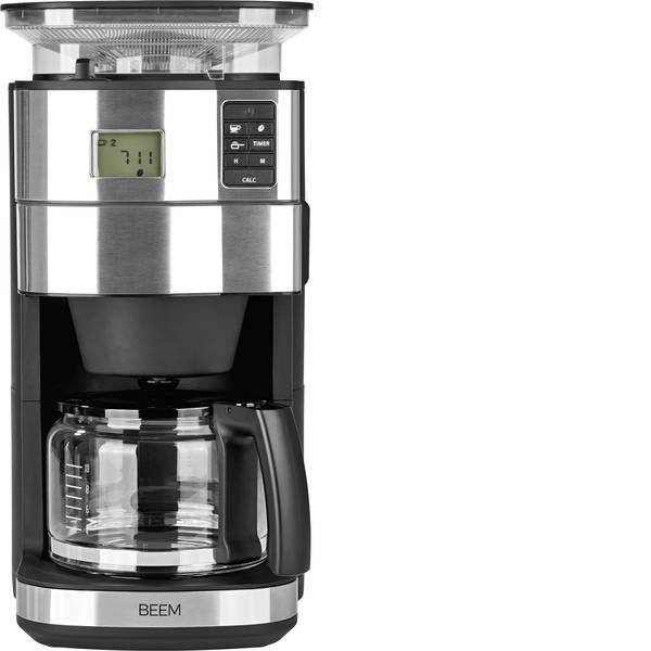 Macchine dal caffè con filtro - BEEM Fresh-Aroma-Perfect II Macchina per il caffè Acciaio, Nero Capacità tazze=10 Con macina caffè, funzione timer -