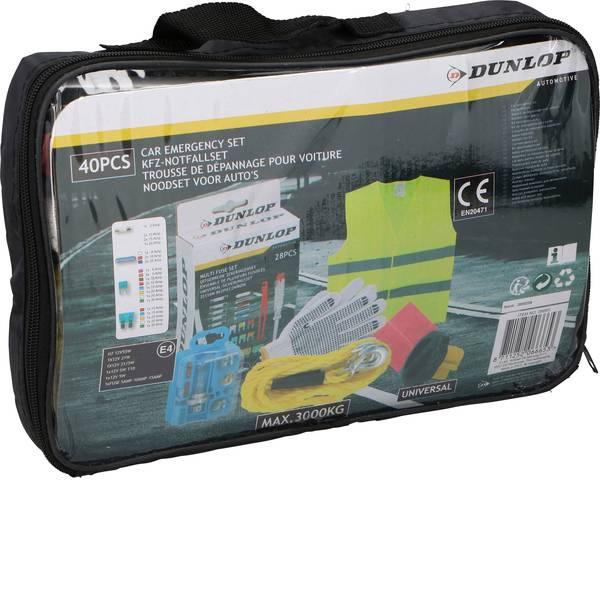 Prodotti assistenza guasti e incidenti - Kit attrezzi demergenza per auto Dunlop 06665 -