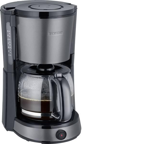 Macchine dal caffè con filtro - Severin KA 9543 Macchina per il caffè Grigio - Metallizzato, Nero Capacità tazze=10 -