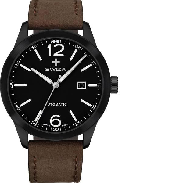 Orologi da polso - SWIZA Automatico Orologio da polso WAT.0266.1101 (Ø) 42 mm Nero Materiale cassa=Acciaio inox Materiale  -